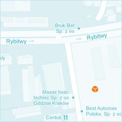 Mapa Krakowa